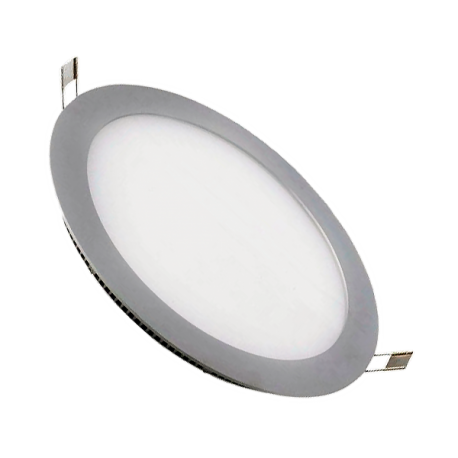 Downlight LED 18W Plata