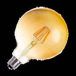 Globo LED G125 GOLD 6W E27 Regulable