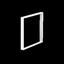 Marco blanco de superficie 60x60cm