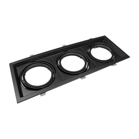 Kardan basculante triple AR111 Negro