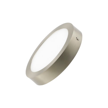 Plafón LED 12W Plata