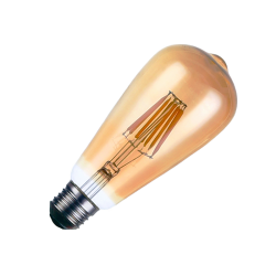 Bombilla ST LED GOLD 6W E27 Regulable