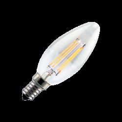 Vela filamento LED 4W E14