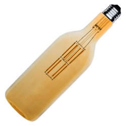 Bombilla LED BOTELLA GOLD 8W E27 Regulable