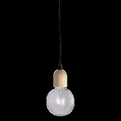 Lámpara madera WOOD