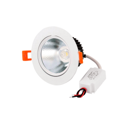 Foco Downlight LED 7W ORIENTABLE