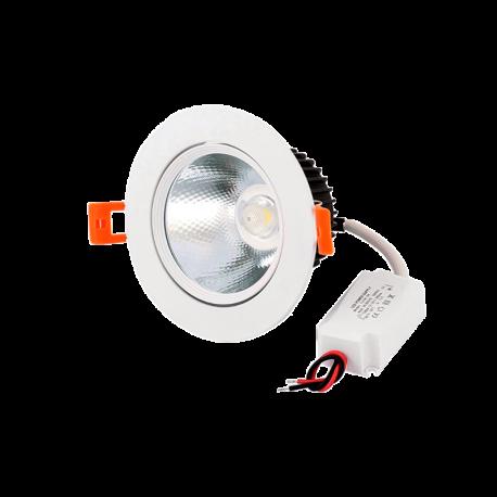 Foco Downlight LED 7W ORIENTABLE
