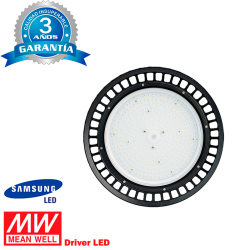 Campana LED UFO 100W IP65 MEAN WELL SAMSUNG