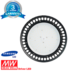 Campana LED UFO 150W IP65 MEAN WELL SAMSUNG