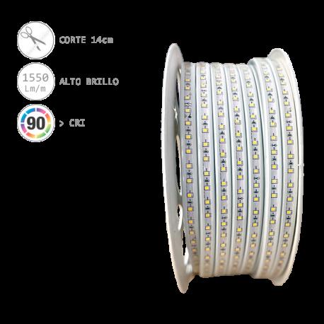 BOBINA Tira LED directa a 230V 12W/m (50m)