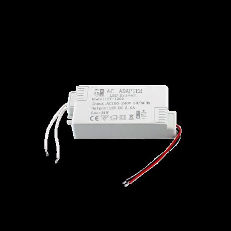 Transformador MINI 24W IP20 12V